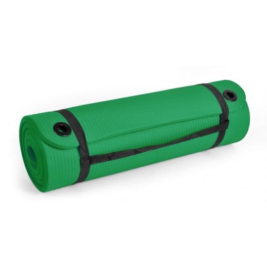 Podložka na cvičenie NBR SMJ 180 x 60 x 2 cm zelená