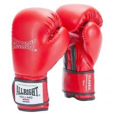 Boxerské rukavice Allright Holland Classic 12 oz. červené