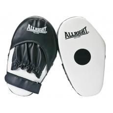 Boxerské lapy Allright Holland bílé