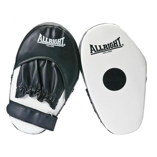 Boxerské lapy Allright Holland biele