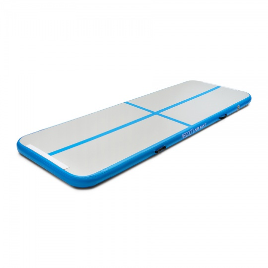 Airtrack nafukovací žiněnka 300 x 100 x 10 cm modrá