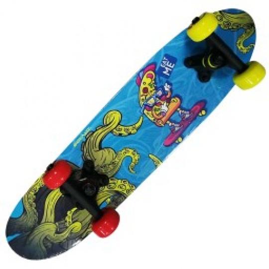 Skateboard 2406- ABSTRACT BLUE