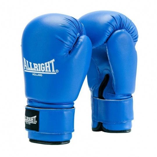 Boxerské rukavice Allright Holland TRAINING 10 oz modré