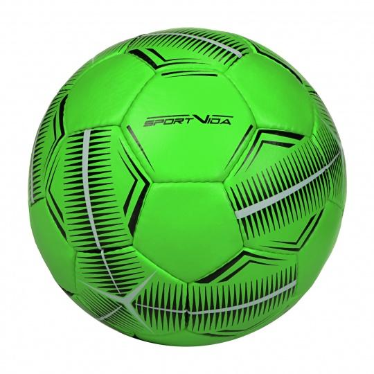Futsalová lopta SPORTVIDA Game - veľkosť 4, zelený