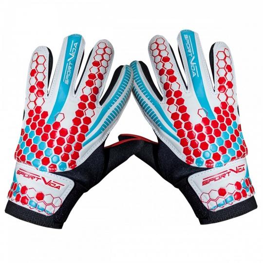 Brankářské rukavice Sportvida white vel. 6