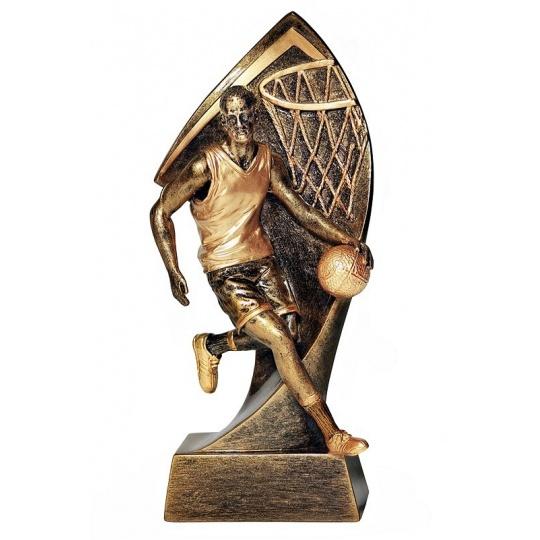 Odlévaná figurka basketbal