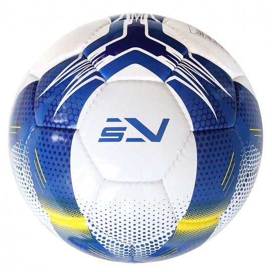 Fotbalový míč SPORTVIDA rozměr 5 - MATCH modrý