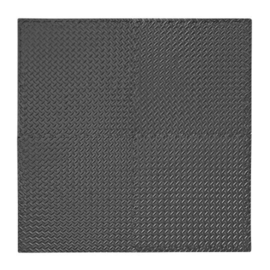 Podložka na cvičenie - Tatami Puzzle 4ks bal. 60 x 60 x 1 cm 4Fizjo čierna