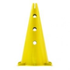 Tréninkový kužel 30 cm Sportvida žlutá