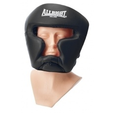 Boxerská prilba Allright Holland Senior čierna