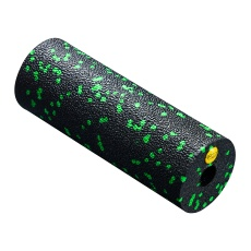 Masážny MINI valec 4FIZJO EPP hladký 15 cm čierno-zelený