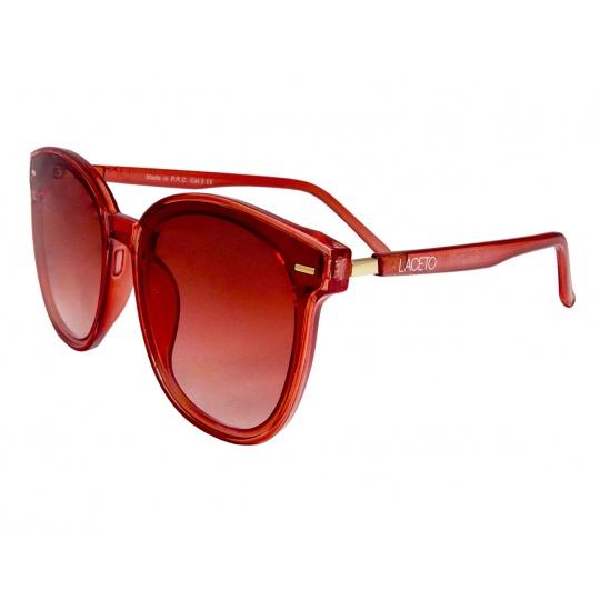 Slnečné okuliare Laceto ROSE RED