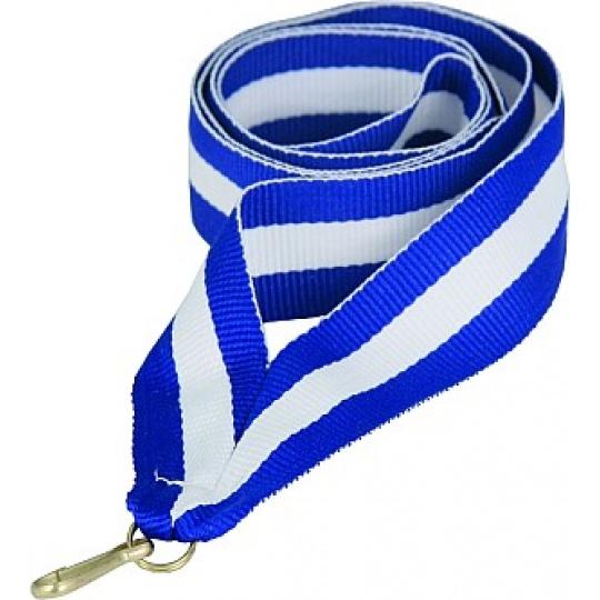 Stuha modro-bílo-modrá 11 mm