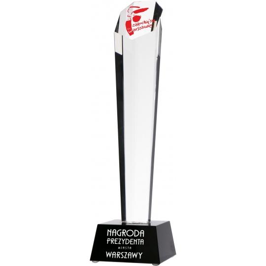 Skleněná trofej G003 s pouzdrem