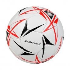 Futsalová lopta SPORTVIDA Game - veľkosť 4, biela