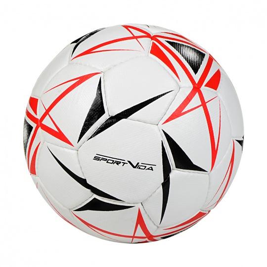 Futsalový míč SPORTVIDA Game - velikost 4, bílá