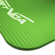 Podložka na cvičenie NBR SPORTVIDA 1 cm zelená