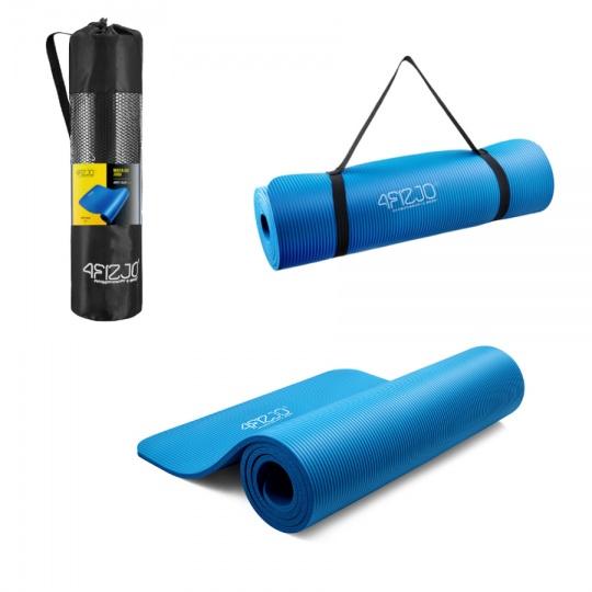 Podložka na cvičenie NBR 1 cm 4Fizjo modrá