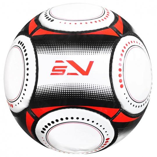 Futbalová lopta SPORTVIDA rozmer 5 - MATCH čierny