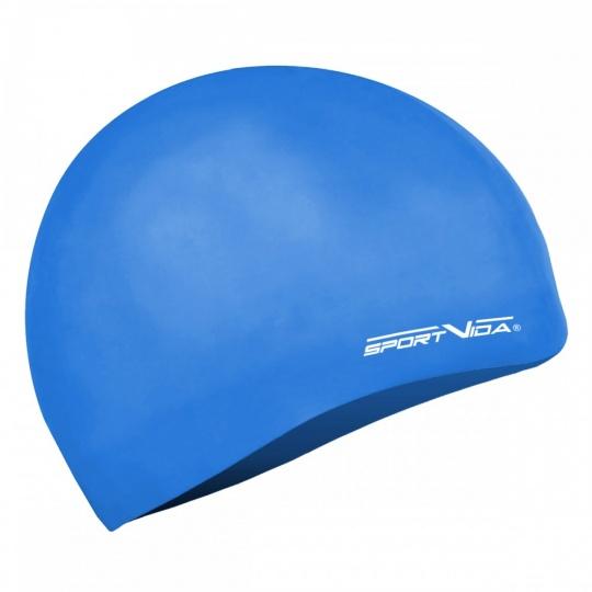 Modrá plavecká čepice