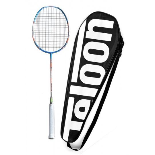 Badmintonová raketa TELOON Blast TL500 Blue 89g