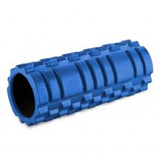 Masažní válec Sportvida 33 x 13 cm modrý