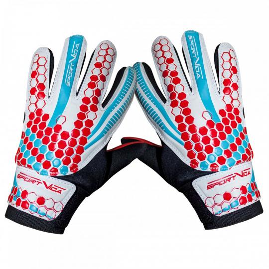 Brankářské rukavice Sportvida white vel. 7
