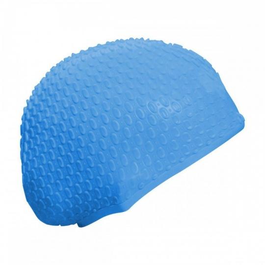 Plavací čepice dámská modrá