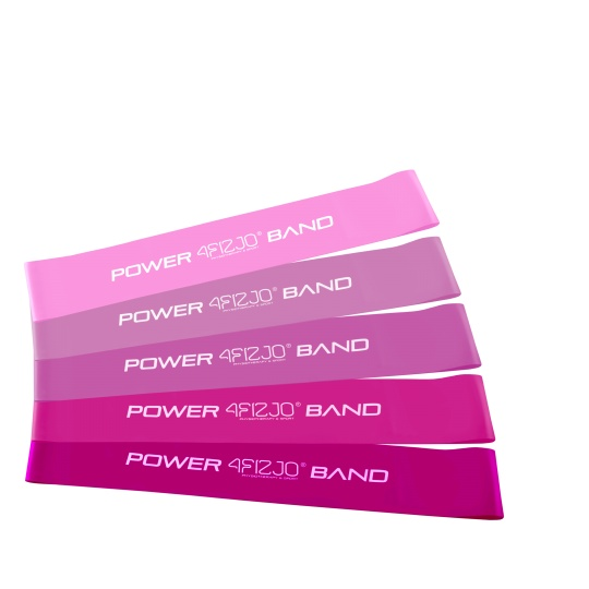 Set gum na cvičení MINI BAND SADA 4FIZJO WOMEN