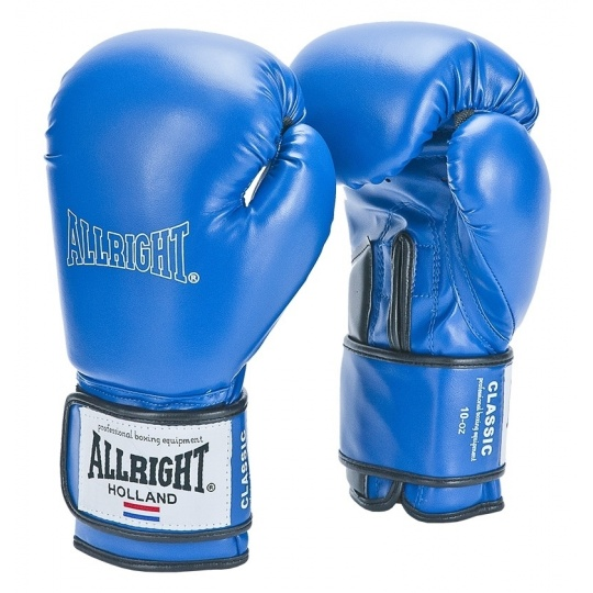 Boxerské rukavice Allright Holland Classic 12 oz. modré