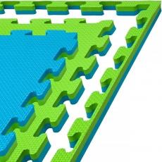 Tatami puzzle 100 x 100 x 2 cm modro-zelená