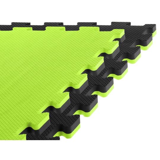 Tatami 100x100x2 CM čierno zelená