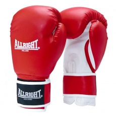 BOXERSKE RUKAVICE POWER GEL ALLRIGHT HOLLAND 14oz červeno-biele