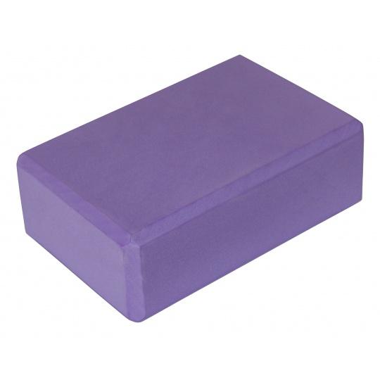 Jóga kostka SPORTVIDA - fialová