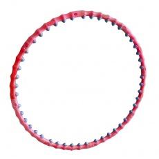 Hula Hoop 90 cm masážny červený
