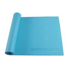 Podložka na cvičení jogy 6 mm Sportvida modrá