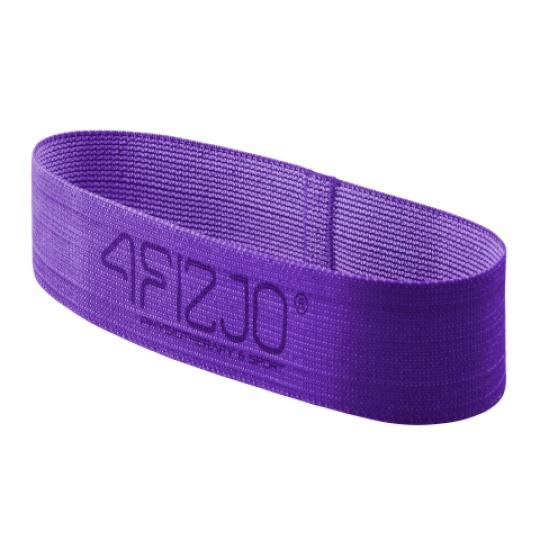 Textilní Flex Band 4FIZJO fialový odpor 16 - 22  kg